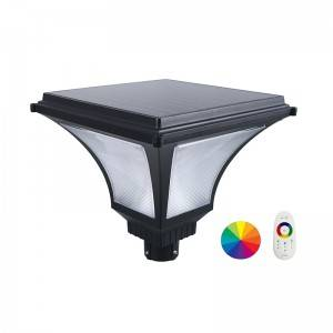 All In One Solar Garden Lights-SG20-Single color or RGBW TYPE