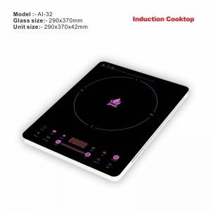 2020 New design AI-32 induction cooker best price of skin touch induction range with high quality