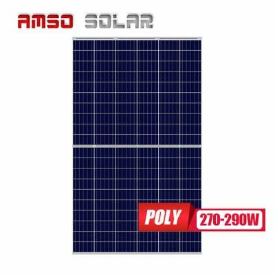 18 Years Factory Solar Panel Ac Module - 5BB 120 half cells poly solar panels 270w280w290w – Amso