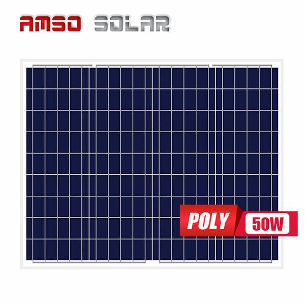 Professional Design 305w Solar Panel - Small solar panels customized cells poly 50w – Amso