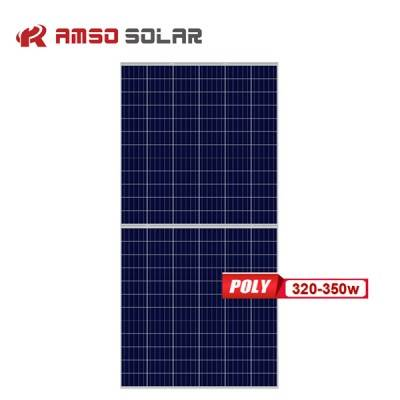 Renewable Design for Mono Or Poly Solar Panels - 5BB 144 cells poly solar panels 320w330w340w350w – Amso