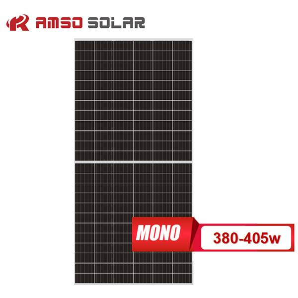 Personlized Products Solar Panel Foldable - 5BB 144 cells mono solar panels 380w390w400w405w – Amso