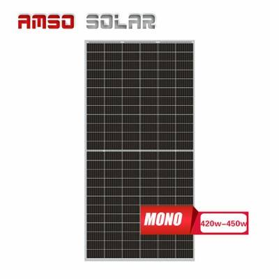 Super Lowest Price Hybrid Solar Thermal Pv Panels - 9BB 144 half cells mono solar panels 420w430w440w450w – Amso