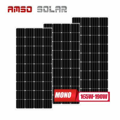 Trending Products 12v Solar Panel - 36 cells mono solar panels 165w175w190w – Amso