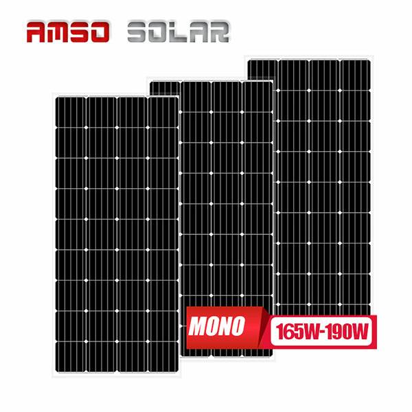 Trending Products Cells Mono Solar Panels - 36 cells mono solar panels 165w175w190w – Amso