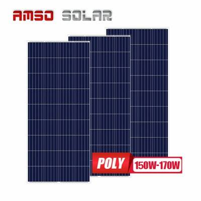 Hot Selling for Solar Panel Light System – 36 cells poly solar panels 150w160w170w – Amso