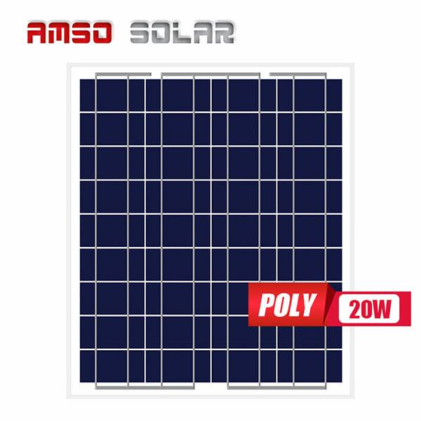 Factory Promotional Mono Versus Poly Solar Panels - Mini solar panels customized cells poly 20w – Amso