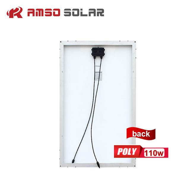 Discount Price Solar Energy System - Small size customized mono solar panels 110w120w130w – Amso