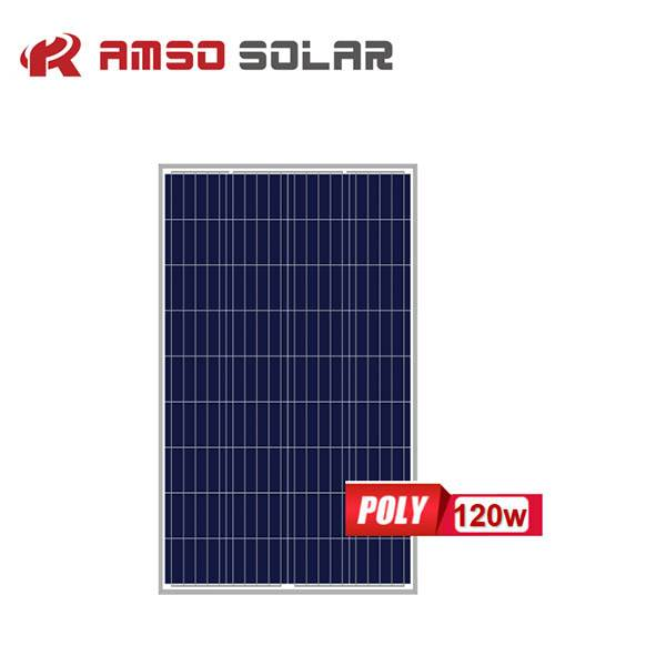 Super Lowest Price Solar Generator System - Small size customized mono solar panels 110w120w130w – Amso detail pictures