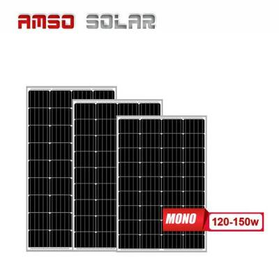 Small size customized mono solar panels 120w130w150w