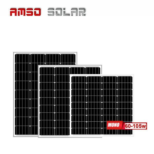 Manufacturing Companies for Poly Solar Panel - Small size customized mono solar panels 60w75w90w105w – Amso