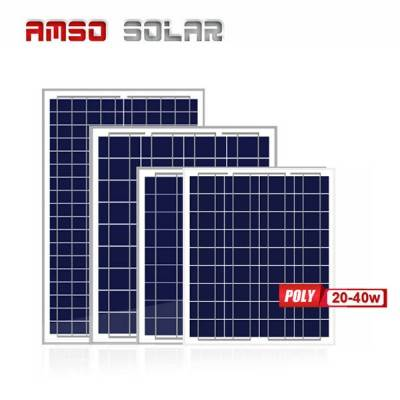 2020 Good Quality 180w Solar Panel - Small size poly solar panels 20w25w30w40w – Amso