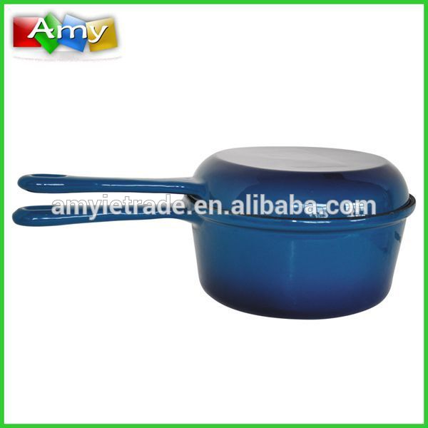 double sided pan, sauce pan with fry pan lid