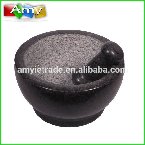 New Fashion Design for Professional Waffle Maker - 8.5 Inch Polished Granite Mortar And Pestle – Amy