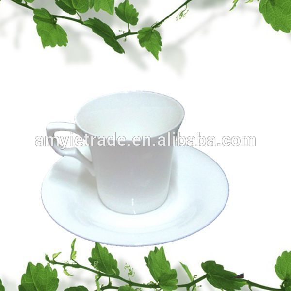 Bone china Coffee Cup and Saucer, Ceramic Tea Cup and Saucer