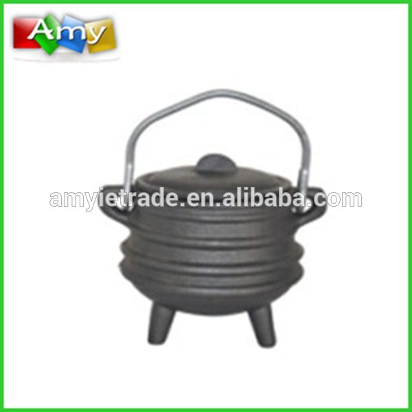 Wholesale Price Picnic Camping Cookware - cast iron 3 legged potjie pot, mini cast iron pot,cast iron cookware – Amy