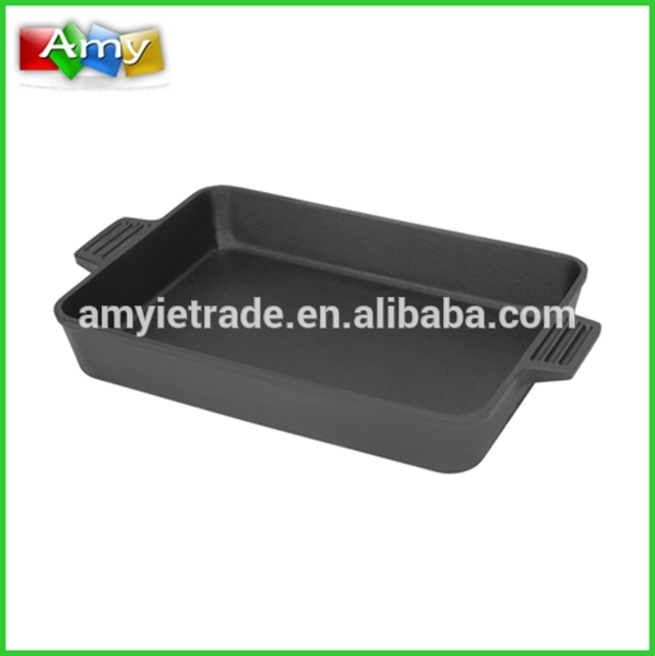 Cast Iron Baking Pan 9 by 13 Inches