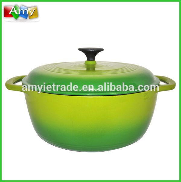 SW-KA28F Enamel Coated Cast Iron Casserole
