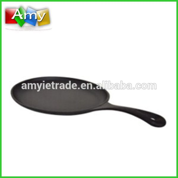 Wholesale Price Large Granite Mortar And Pestle - oval pizza grill pan, nonstick pancake pan,cast iron cookware – Amy