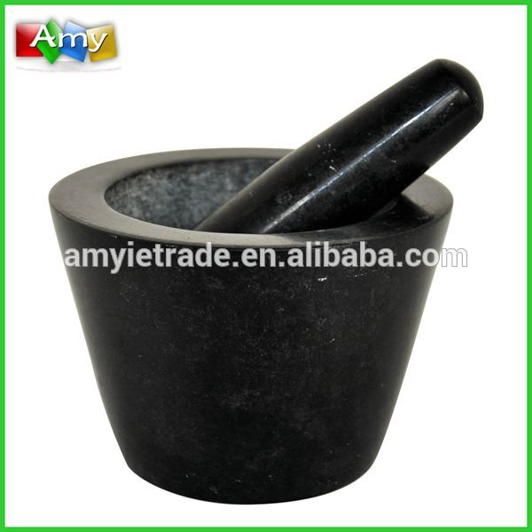 Chinese Professional Shijiazhuang Cast Iron - Herbal Granite Pestle and Mortar – Amy
