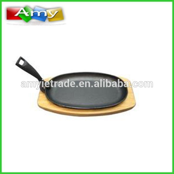 cast iron sizzler platter, cast iron sizzler plate, cast iron sizzling plate