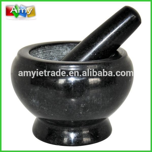 Popular Design for Commercial Grill Pan - SM14B super granite mortar and pestle, custom mortar and pestle – Amy