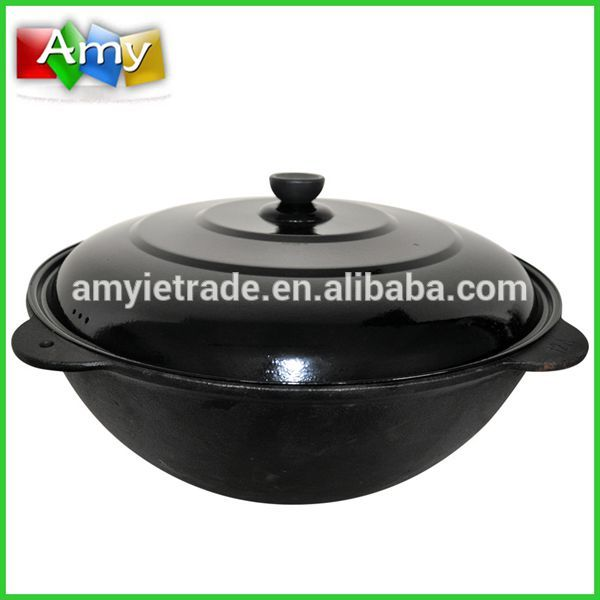 cast iron wok/cast iron cookware