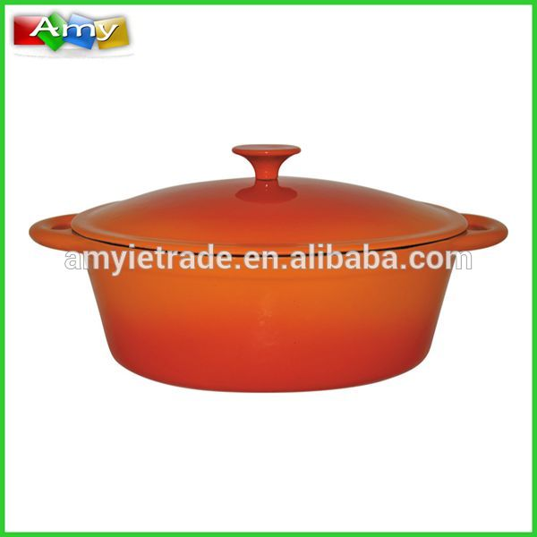 Porcelain Coated Cast Iron Cookware, Enamel Cast Iron Cookware