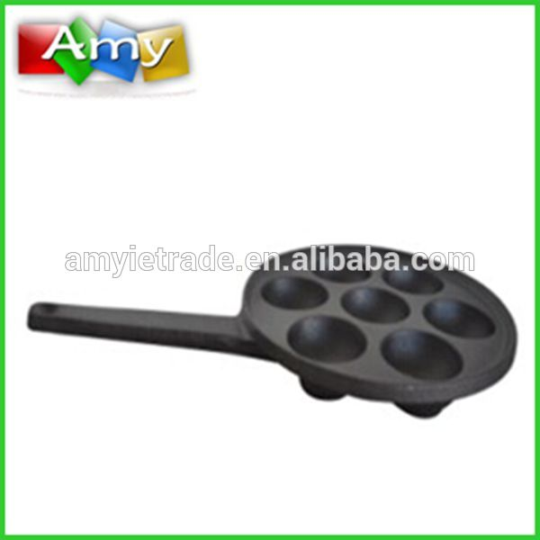 7 hole cast iron muffin pan, cookie baking pan