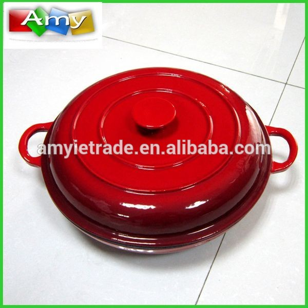Chinese Professional Die Cast Casserole Cookware Set - Enamel Cast Iron Dutch Oven, Cast Iron Cookware – Amy