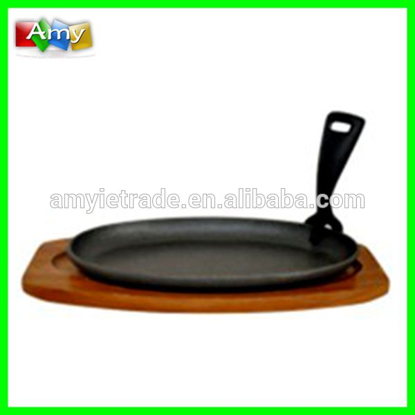 OEM/ODM China Unique Polished Stone Mortar And Pestle - cast iron sizzler plate, cast iron cookware for indian – Amy