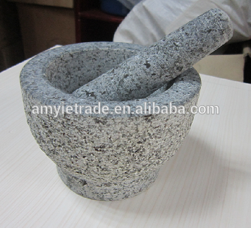 stone mortar and pestle, granite stone mortar, mortar and pestle