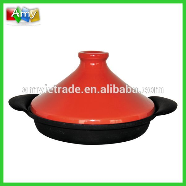 cast iron tajine with ceramic cover, japanese cast iron cookware