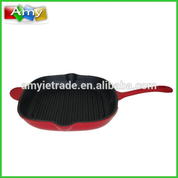 OEM/ODM Supplier Pot Lid For Cookware - Cast Iron Grill Frying Pan – Amy