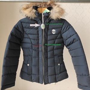 China Chinese Clothing Manufacturers - woman padded jacket – Anbzeng