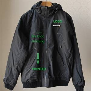 Wholesale Surplus Garments Suppliers - The REVERSIBLE MAN AUTUMN JACKET WITH REMOVABLE HOOD – Anbzeng