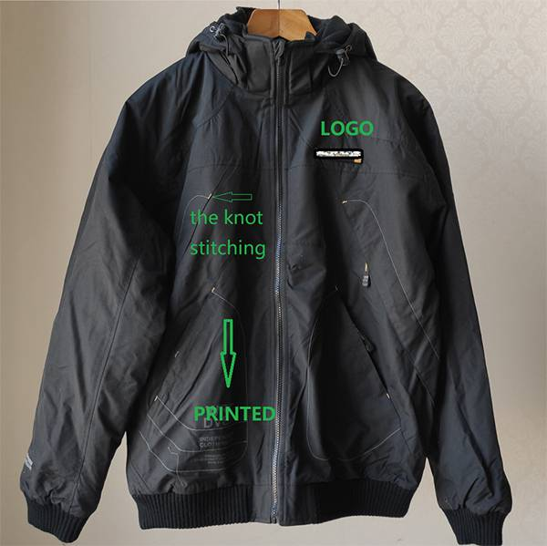 Wholesale Clothing Websites Factory - The REVERSIBLE MAN AUTUMN JACKET WITH REMOVABLE HOOD – Anbzeng