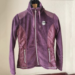 Wholesale Hiking Apparel Factories - The Different Fabric Stitching Jacket For Ladies – Anbzeng
