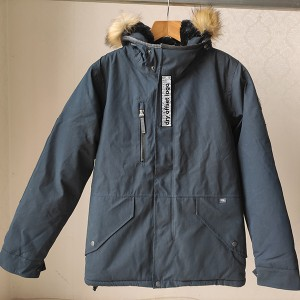 China Garment Washed Factories - Man And Girl Padded Jacket – Anbzeng