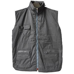 China Workwear Clothing Factory - HIDDEN HOOD MAN'S PADDED VEST – Anbzeng