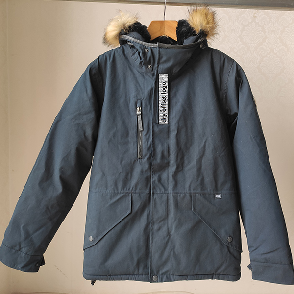 China Fray Apparel Suppliers - Man And Girl Padded Jacket – Anbzeng detail pictures