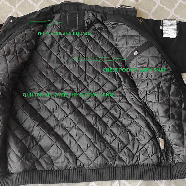 China Pu Jacket Factory - THE WOOL PADDED JACKET FOR YOUNG MAN – Anbzeng