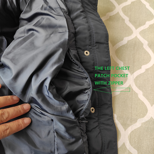 China Csg Clothing Factories - woman padded jacket – Anbzeng detail pictures