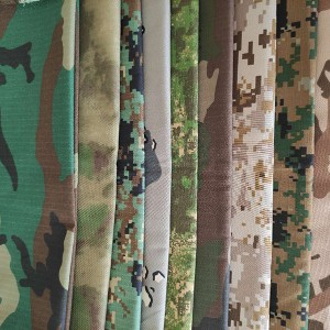 Wholesale Double Sided Printed Fabric Manufacturers - C/T  Jacquard Anti chlorine bleaching  camouflage fabric – Anbzeng