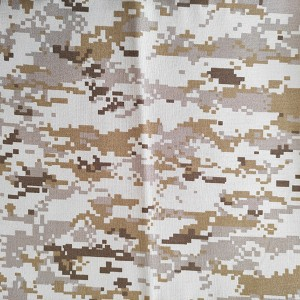 China Printed Wool Fabric Factories - T/R Water Proof camouflage – Anbzeng