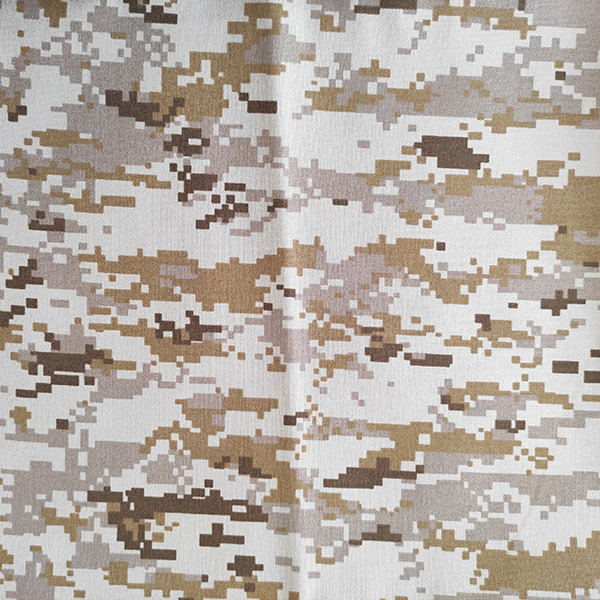 Wholesale Printed Stretch Mesh Fabric Factory - T/R Water Proof camouflage – Anbzeng