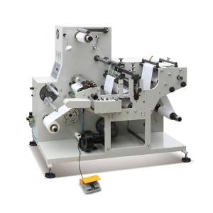Excellent quality Automatic Hot Foil Stamping Machine - AD-320L Blank Label Slitting&Rotary Die Cutting Machine – Andy