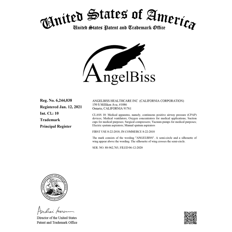 Angelbiss successfully registered a US trademark