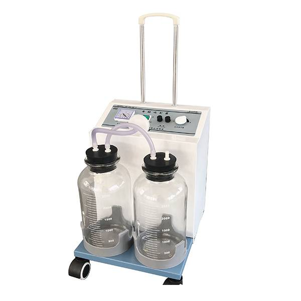 China Manufacturer for Medical Central Suction System - Electric Suction Machine (twin jar) – AngelBiss