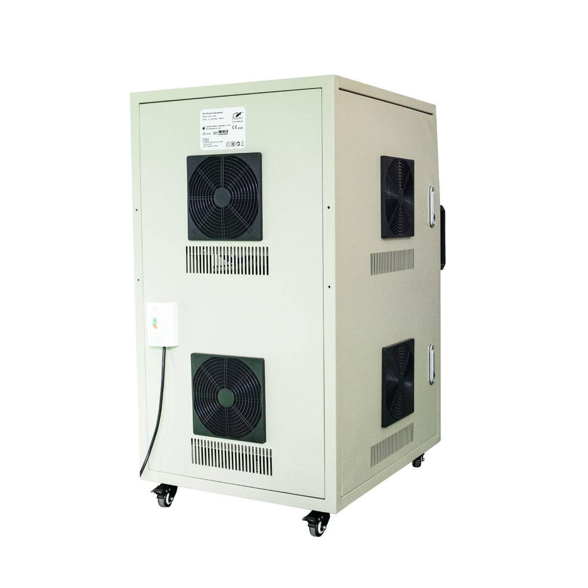China Wholesale Fish Farming Oxygen Concentrator Manufacturers - High Pressure PSA Oxygen Generator ANGEL-20SPANGEL-30SP – AngelBiss detail pictures